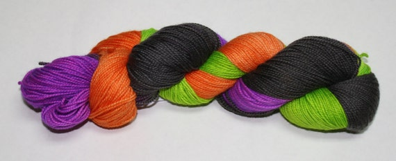 Witch's Britches Hand Dyed Sock Yarn