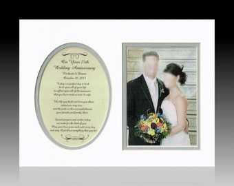 10th 25th 20th 40th 50th 60th Wedding Anniversary Personalized gift