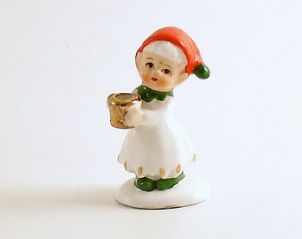 Vintage Christmas Decoration Candle Holder