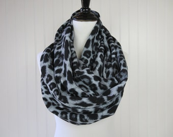 Print - Leopard Scarf - Animal Print Scarf - Leopard Infinity Scarf - Animal Print Infinity Scarf -