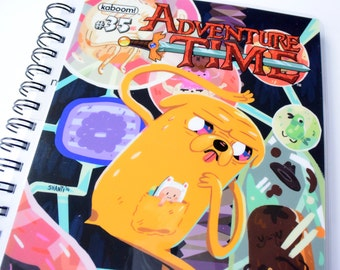 Adventure Time Journal & Sketchbook // Recycled Comic