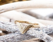 40% Off Sale Bronze Take Flight Ring | Double Wing Ring | Nature Inspired | Bronze Statement Ring