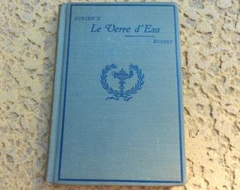 Le Verre d'Eau Scribe & Eggert/Book/French/Comedy/Eugene Scribe