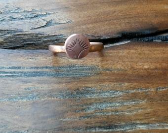 Cooper Design Stamp Ring