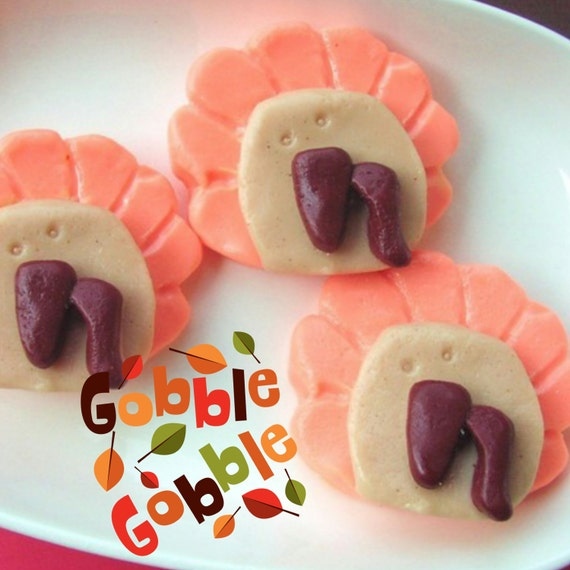 Sale Soap. Thanksgiving Turkey Soaps. 865. Last and final set only a buck
