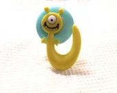 Yellow Monster Ring