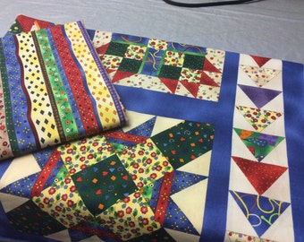 Quilt Panel and Coordinating Fabric