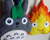 Totoro felt Charm