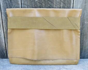 Sage Woodland Light Traveler Eco Leather Case