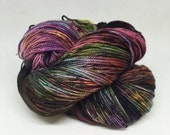 Dyed to order Hand Dyed Yarn - Witches Garden
