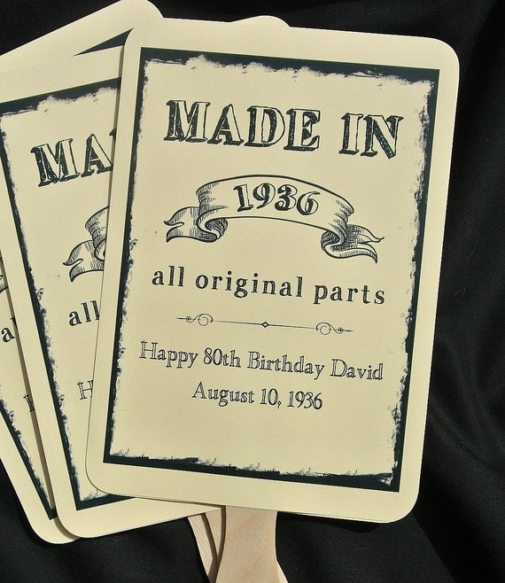 Birthday Party Quotes For Adults: Adult Birthday Favors 80th Birthday By Abbeyandizziedesigns