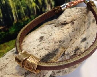 Bronze Power Bracelet