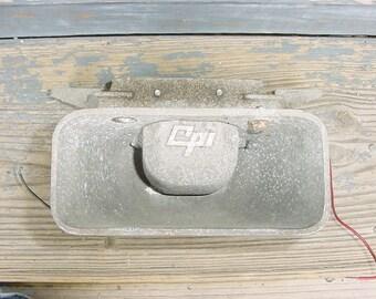 Vintage CPI Military Siren Speaker SA 1352 Steampunk