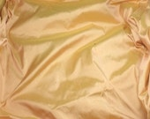 APRICOT PEACH Silk DUPIONI Fabric - 1 Yard