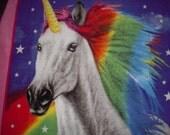 Unicorn Fleece No-Sew Blanket