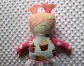 Lexie Medium Handmade Fabric Baby Doll