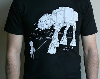 My Star Wars AT-AT Pet - American Apparel Mens t shirt  ( Star Wars tshirt )
