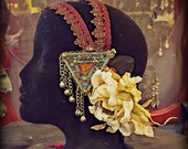 Scarlet - Art Deco/Nouveau Fantasy Faerie Tribal Fusion Headband