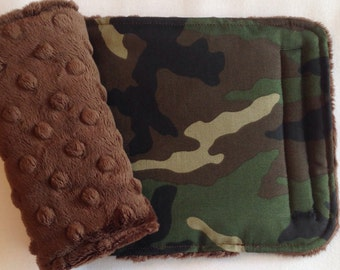 Camoflauge Reversible Car Seat Strap Covers