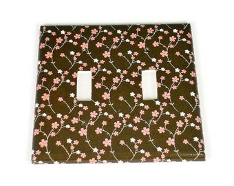Double Light Switch Cover  Double Switchplate  Switch  Plate in  Amandla  (147D)