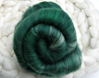 The Tarot Series: Justice, Your Choice of Batts or Rolag-Style Punis for Spinning, Felting
