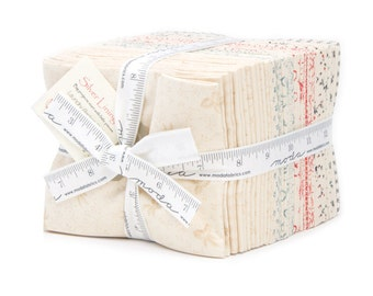 Silver Linings (42260 AB) by Laundry Basket Quilts - Fat Quarter Bundle (28 FQ's)