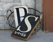 Personalized Monogram & Family Name Sign