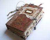 Travel Journal, Art Journal, Diary, Writing Journal, Altered Book, Guest Book, Junk Journal - Inspired
