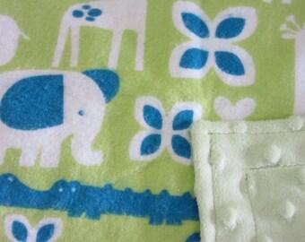 Lovie Blankets - Lovies - Zoo Lovie - At the Zoo