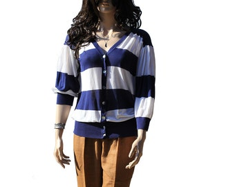 Cotton Summer Cardigan Sweater