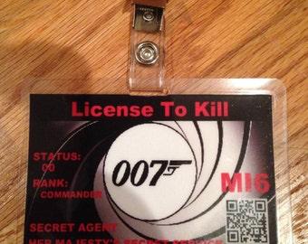 Licence To Kill Etsy