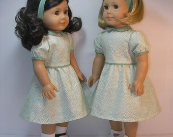 18 Inch Doll Dress fits Kit and Ruthie or other American Girl doll 1934-10312