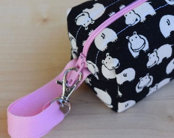 Happy Hippos Mini (Pacifier Pouch)