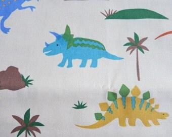 Half Yard - Dinosaur Galore Japanese cotton fabric