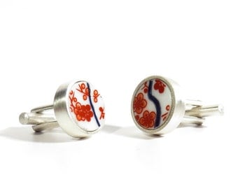 Porcelain Cufflinks 8