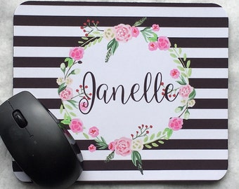 Personalized Monogrammed Mousepad