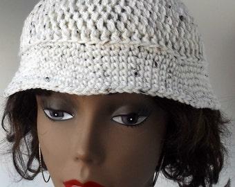 Bucket Hat, Unisex Crochet Hat