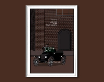 Peaky Blinders poster print in various sizes