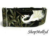 Greyhound Martingale, greyhound collar, Japanese martingale, Irish Wolfhound, Podenco collar, Saluki collar, 2 in martingale, galgo collar,