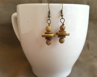 Sunny Universe... Extreme Decaf Earrings .. FREE SHIPPING