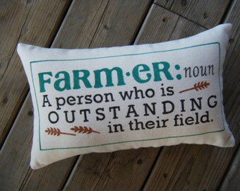 Pillow - Farm-er: Noun ........