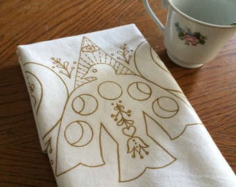 Moon Spirit Tea Towel