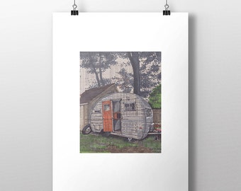 Camper No.1 art print