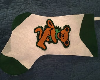 Grateful Dead Christmas Stocking