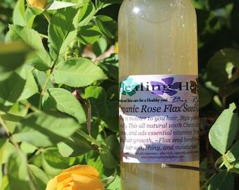 Organic Rose Flax Seed Gel