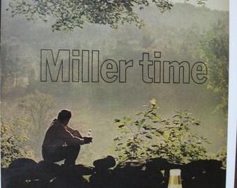 135 Miller Beer Ad - 1972