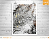 Sale 15% Abstract Water Print, Vertical Print, Water Ripples, Rain Art, Fine Art Photography, Raindrops, Autumn Art, Fall Picture, Water Art
