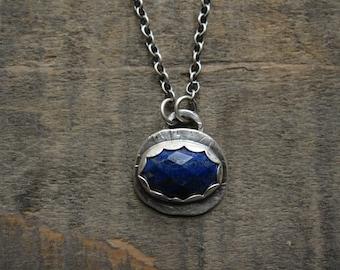 Lapis necklace by teresamatheson