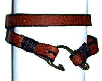 Check out#men leather bracelet#OOTD#trending today#leather bracelet#men jewelry#bracelets#men bracelets#men fish hook bracelet#Style#