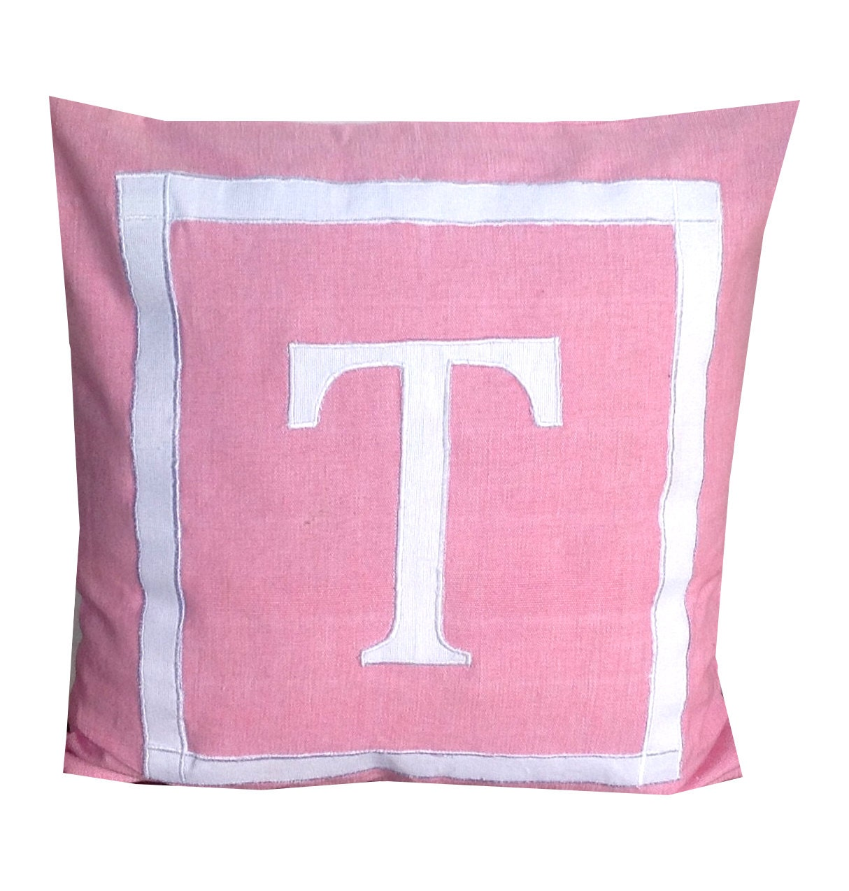Throw Pillow For Nursery : 30% OFF Monogram Nursery pillows Pink Throw Pillows Nursery